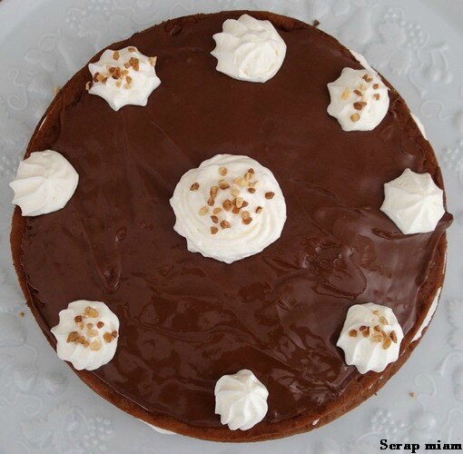 gâteau de crêpes chocolat B