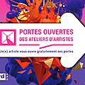 Portes ouvertes des ateliers d'artistes 2018