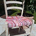 Rempaillage de chaise