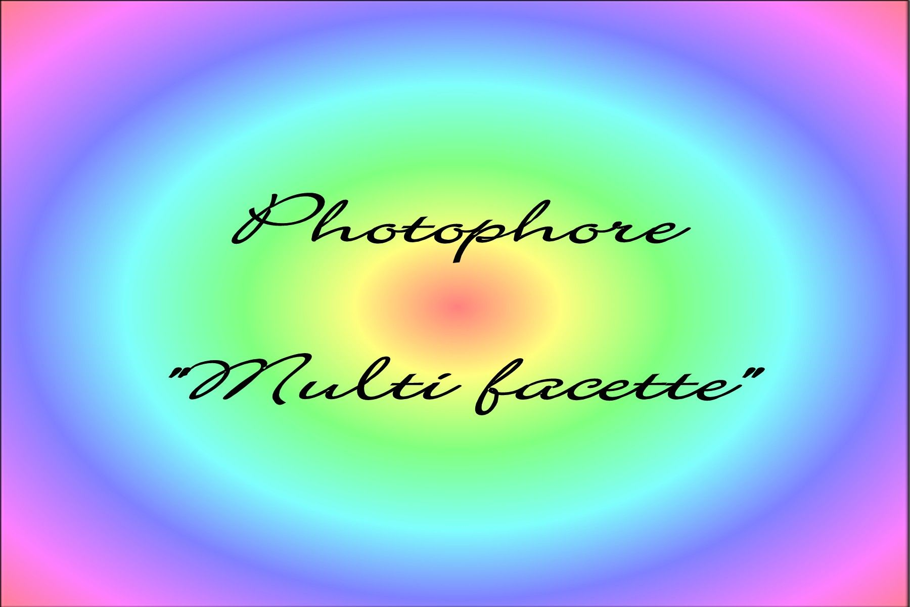 photophore multifacette