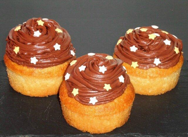Cupcakes kiwi chocolat