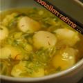 Un bouillon délicieux et raffiné, et un grand merci à trinidad