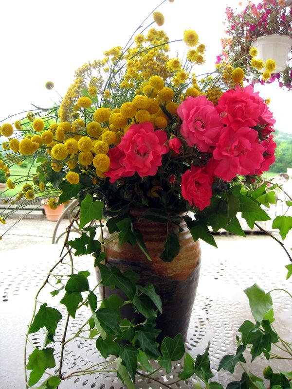 Bouquet de Fleurs du Jardin - Dans l\'air du Tarn !