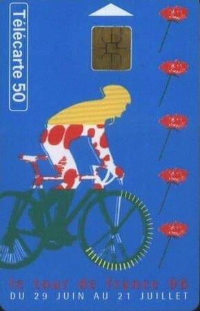 Télécarte Tour de France 1996