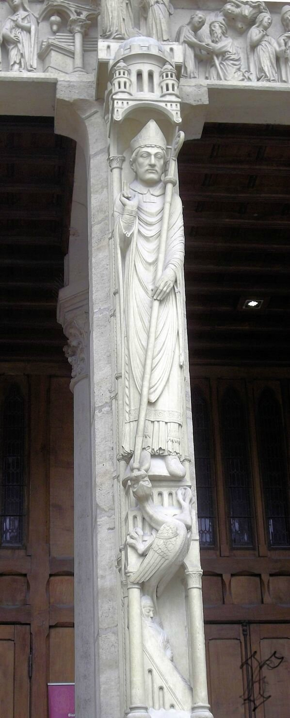 portail Ste Anne _trumeau=St Marcel