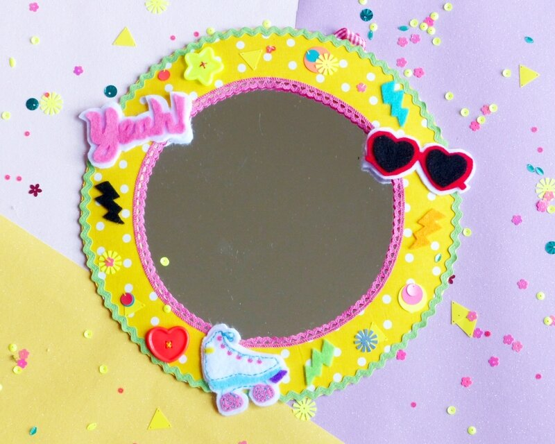 diy-customisation-miroir-color-pop-80s-90s