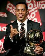 BALLON D'OR 2005 RONALDINHO