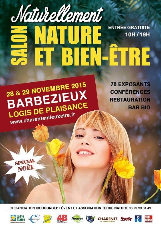 Salon Naturellement de BARBEZIEUX 28 & 29 Novembre 2015 A5_recto