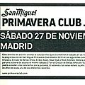 Edwyn collins - samedi 27 novembre 2010 - rock kitchen (madrid)