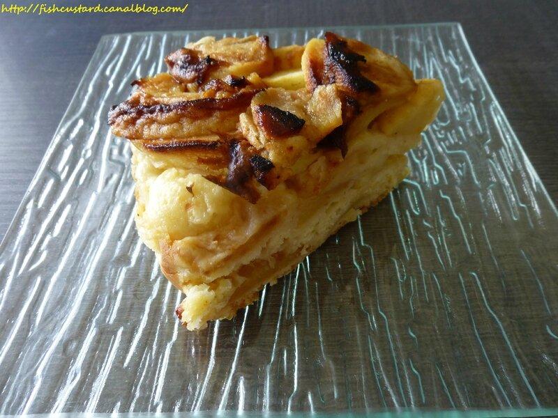 Gâteau léger aux pommes et citron (44)