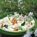 Salade de crozets à la tomme