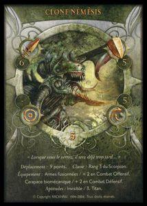 Carte - Clone nemesis(recto)