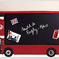 Un cadre mémo bus anglais