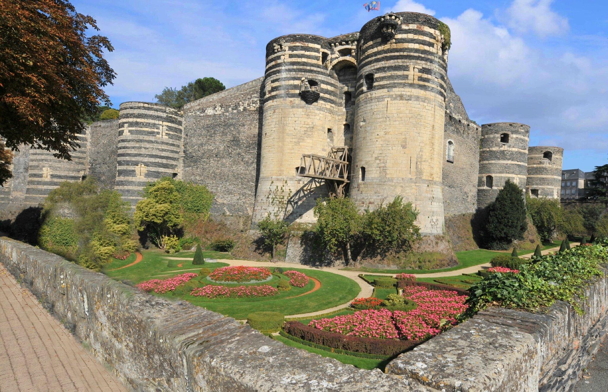Angers : au riche patrimoine