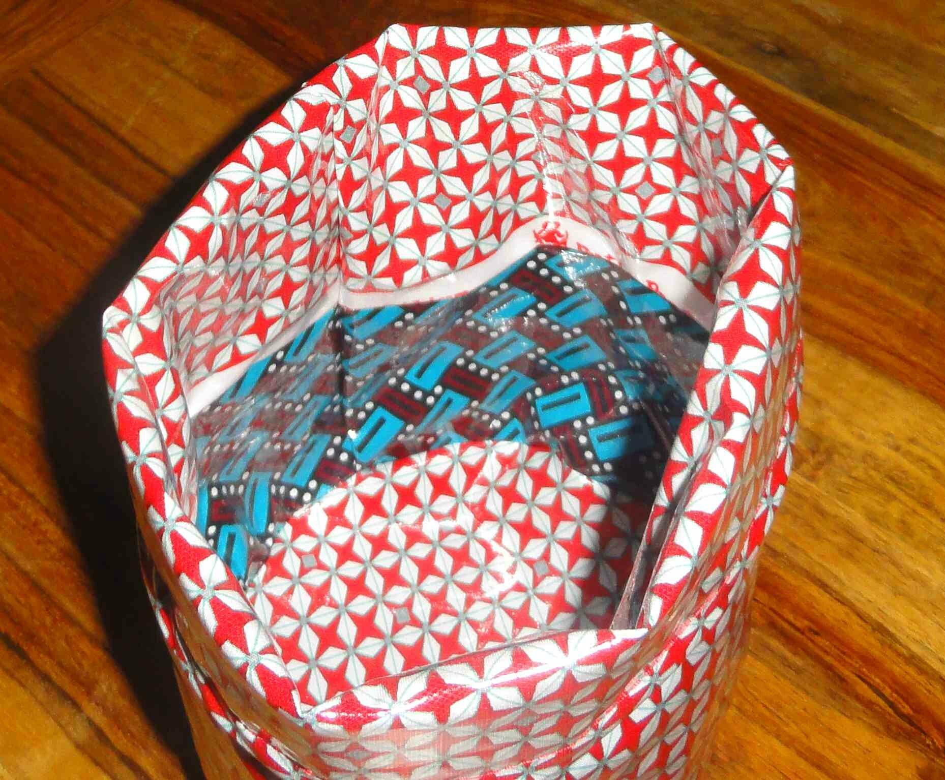 corbeille coton enduit helium rouge petit pan (3)