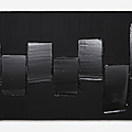 New exhibition brings together 9 works of pierre soulages's iconic outrenoir series