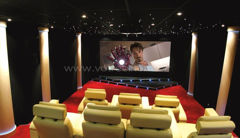 home cinema salles d di es home cinema home cinema exemples. Black Bedroom Furniture Sets. Home Design Ideas