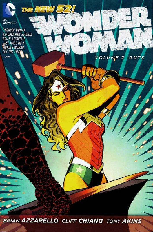 wonder woman vol 2 guts TP