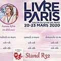 Dédicaces à livre paris 2020