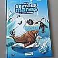 Nous avons lu les animaux marins en bande dessinée (tome 4) de cazenove et jytéry