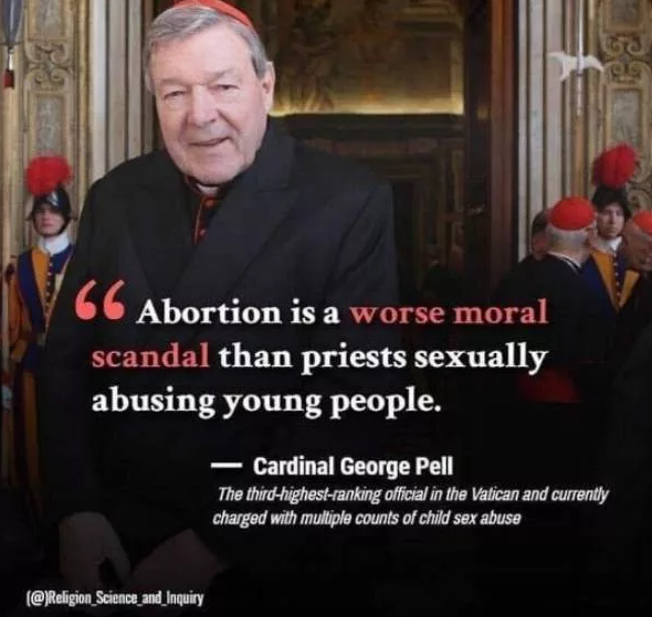 2019-03-10 22_27_06-FACT CHECK_ Did Cardinal George Pell Say Abortion Was Worse Than Sexual Abuse of