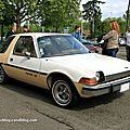 Amc pacer X hatchback 3 door sedan 1977 (Retrorencard mai 2012) 01