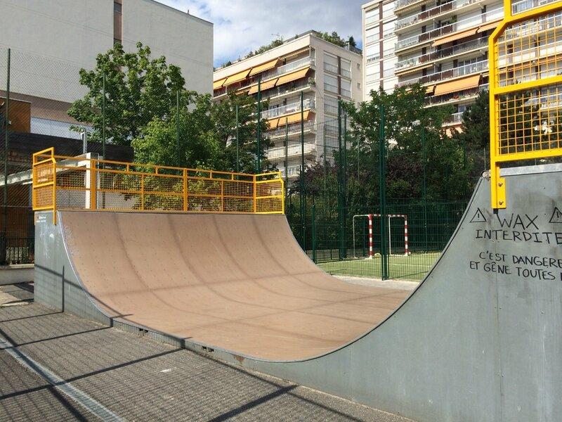 Skatepark Paris 11 - TEP EMILE LEPEU 01