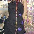 lara robe étoilée