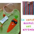 La carotte nouvelle...
