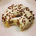 Mes petites gourmandises : le donut's au caramel coeur fondant !