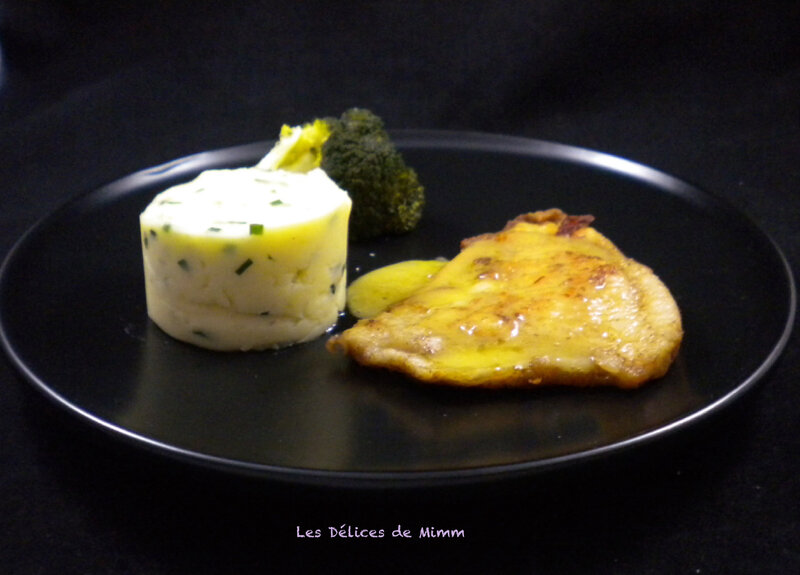 Filets de turbot au beurre blanc 5