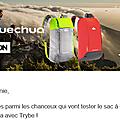 Sac à dos quechua: avis de loulou