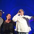 marie-Hélène et Isaac Kemo, Fred, Organisateurs du Festival