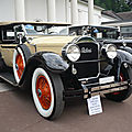 Packard model 533 six phaeton 5-passenger 1928