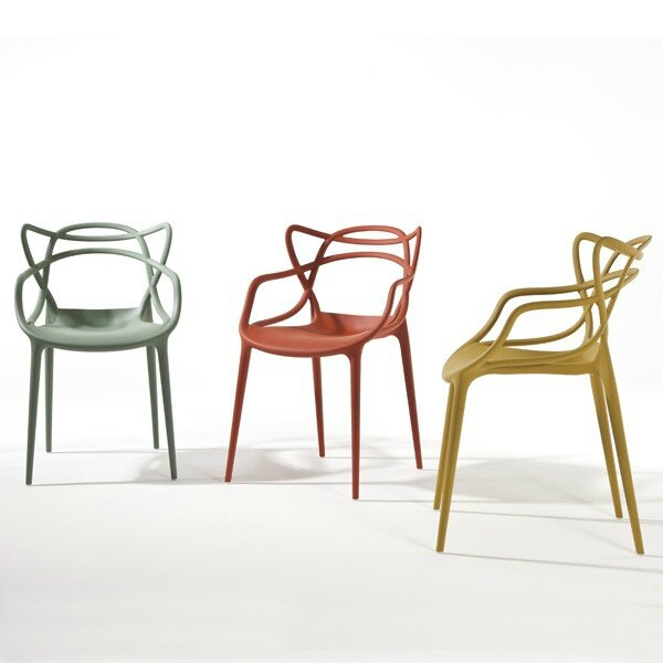 fauteuil-masters-red-kartell-philippe-starck