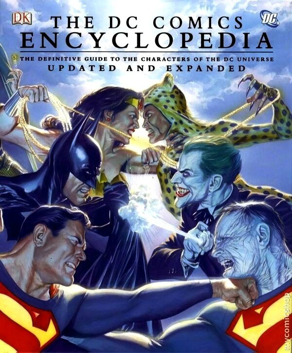 the dc comics encyclopedia updated and expanded HC