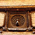 Bhaktapur - Peacok Window