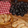 Tartelettes pommes-noix de coco ultra vite faites!