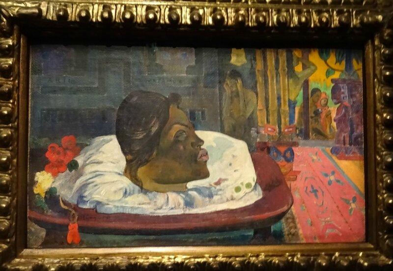 Gauguin Arii Matamoe La fin royale 1892