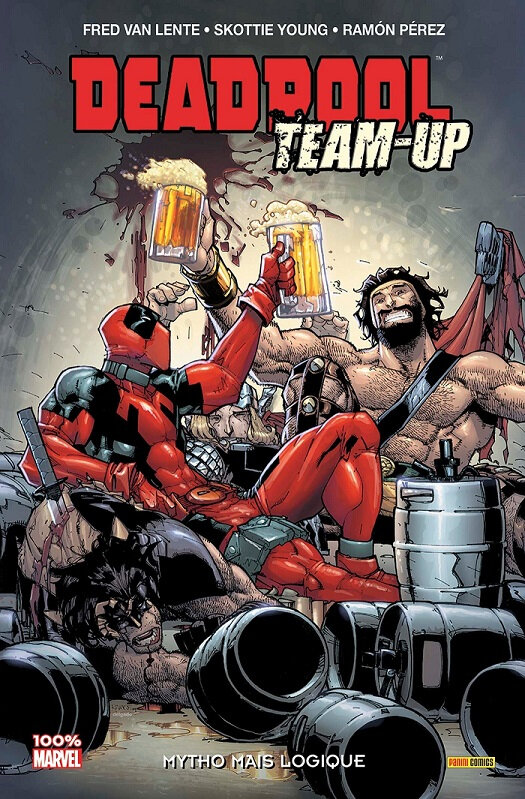100% marvel deadpool team-up 03 mytho mais logique