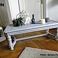 Moderniser une table basse classique d'après barbara de reveillezvosmeubles.com