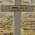 Abrioux alphonse (vicq exemplet) + 20/04/1917 prouilly (51)