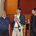 01 - discours de Lorenzo Lotti, adjoint au maire de Greve in Chianti