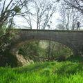 Pont sur la Gélise entre Castelnau et Eauze, au niveau du Grit