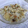 Poisson : morue grillée au barbecue, à l'huile d'olive