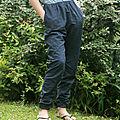 Pantalon hector. c'est les vacaaannnces !!!
