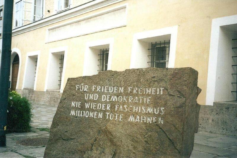 Branau-Sur-Inn, maison natale d'Hitler (Autriche)