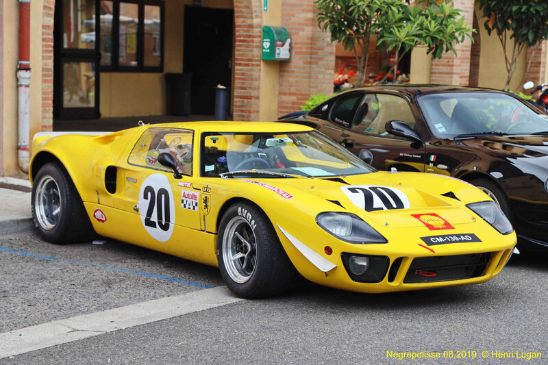 Ford GT 40 replica Sbarro