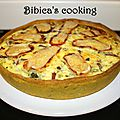 Quiche butternut au bacon & merzer {pâte maison légère au curry}