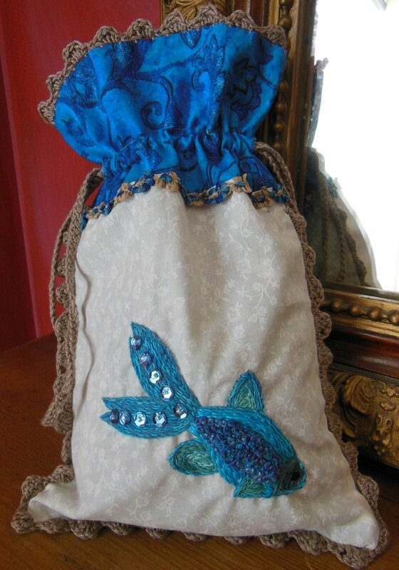 Pochette poisson Caraîbes